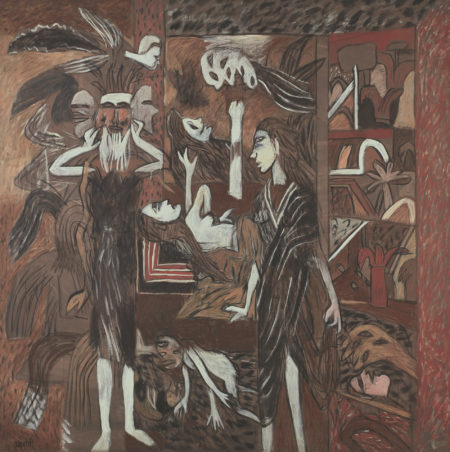 K.G. Subramanyan-The Visitor-1994