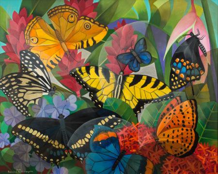 Senaka Senanayake-Untitled (Butterflies)-2015