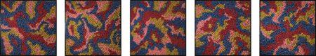 Yayoi Kusama-Between Heaven And Earth (Set Of Five)-1987
