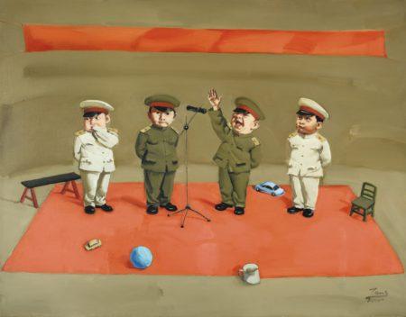 Tang Zhigang-Children In Meeting-2000