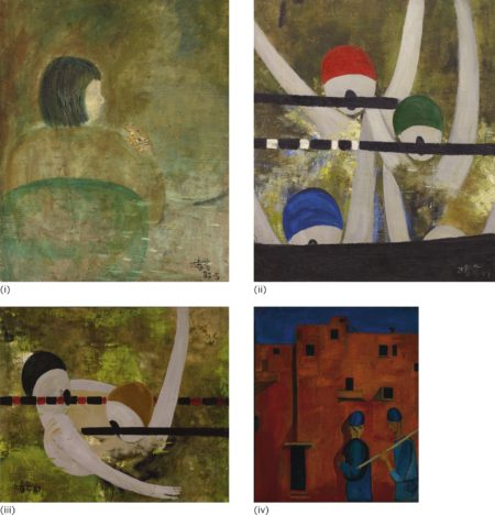 Lin Chunyan-Untitled (Four Works)-1987