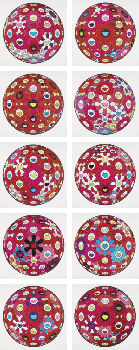 Takashi Murakami-Flowerball And Others (Ten Works)-2013