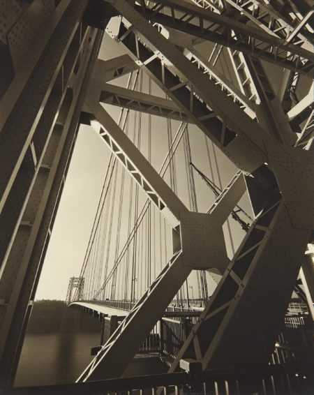Edward Steichen-George Washington Bridge, New York-1931