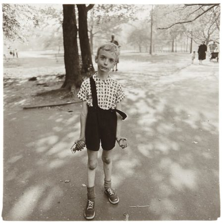 Child With A Toy Hand Grenade In Central Park, N.Y.C.-1962