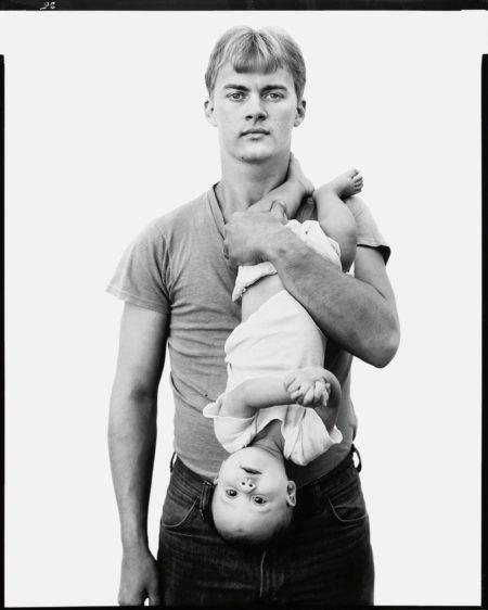 John Harrison, Lumber Salesman, And His Daughter Melissa, Lewisville, Texas, November 22, 1981-1981