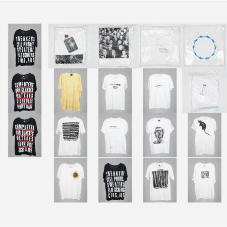 Vic Muniz, Felix Gonzales-Torres, Giovanni Jance, Dave Muller, Chuck Close, Damien Hirst, Cai Guo-Qiang, Barbara Kruger, Bill Radawec - Artist Designed T-Shirts-