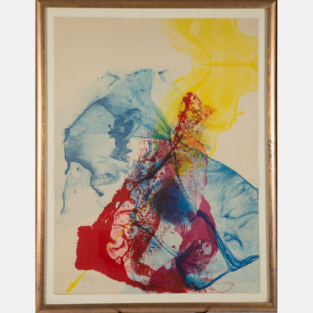 Paul Jenkins-Phenomena Katherine Wheel-1969