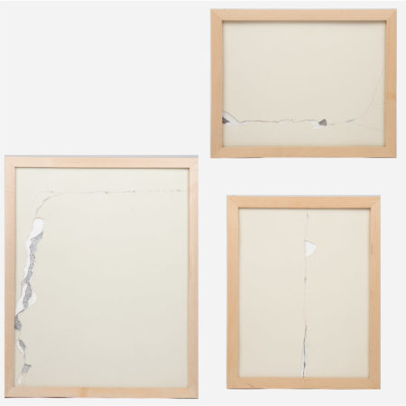 William Radawec-Three Artworks from the 'Crack Up (Bathroom)' Series-