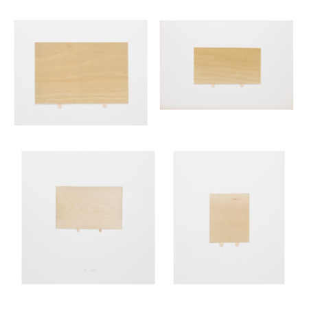 William Radawec-Four Artworks from 'A Study' Series-