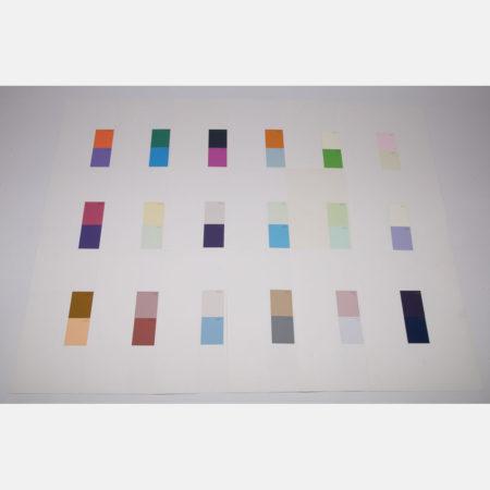 William Radawec-Twenty-Eight Studies for the 'Color Chip' Series-