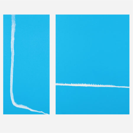 William Radawec-Two Paintings from 'Out of the BlueThe Turn Around' Series-