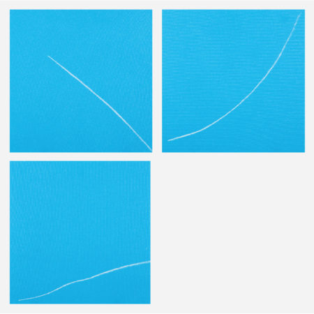 William Radawec-Three Paintings from 'Out of the BlueThe Turn Around' Series-