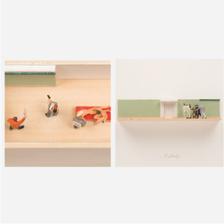 William Radawec - Two Dioramas from 'A Study' Series-