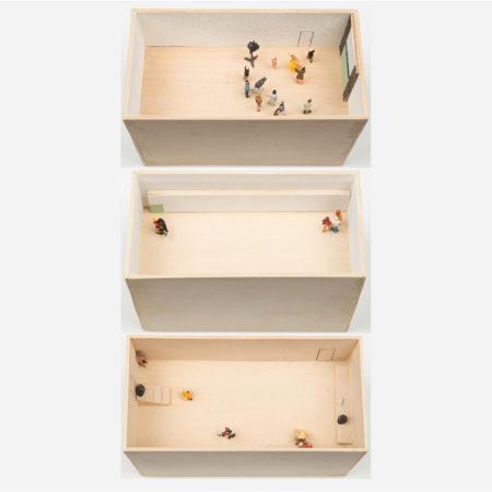 William Radawec-Three Dioramas from 'A Study' Series-2010
