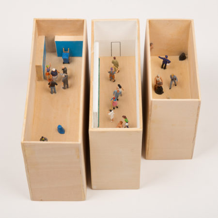Three Dioramas from 'A Study' Series-2010