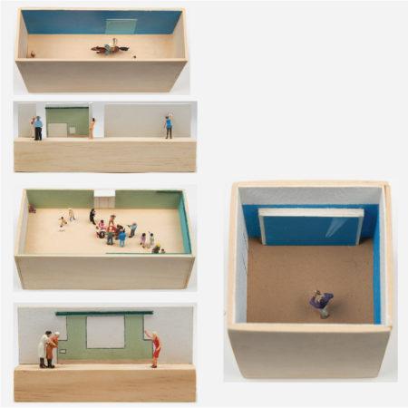 William Radawec-Five Dioramas from 'A Study' Series-2009
