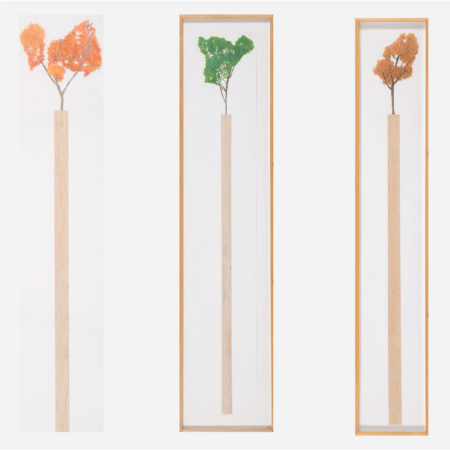 William Radawec - Three Artworks from the 'Walking Stick' Series-