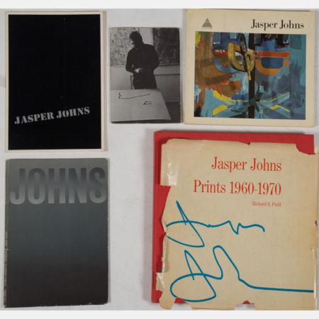 4 Books Related to Jasper Johns-