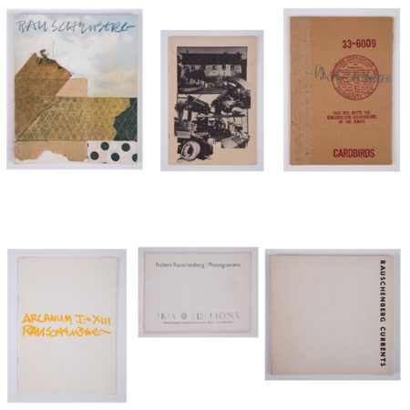 6 Books Related to Rauschenberg-