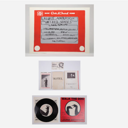 Collection of Laurie Anderson Ephemera-