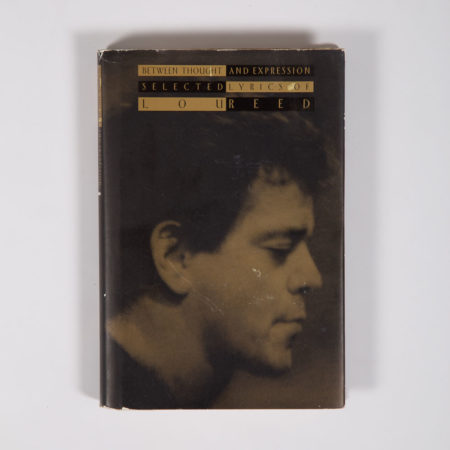 Signed Lou Reed Book-
