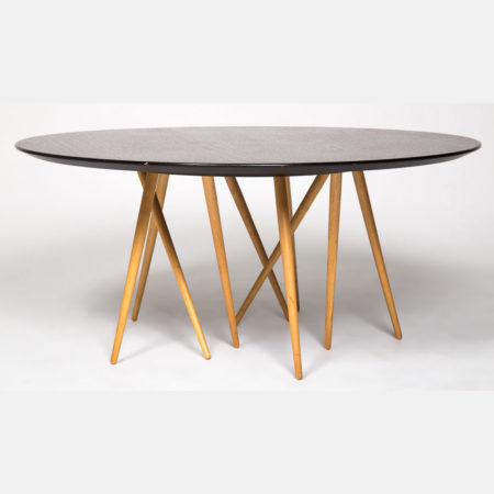 A Lawrence Laske Toothpick Cactus Table-