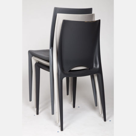 3 Stacking Chairs-