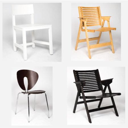 Jesus Gasca, Niko Kralj - 4 Contemporary Chairs-