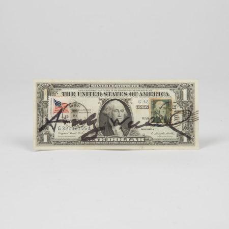 Andy Warhol-One Dollar-