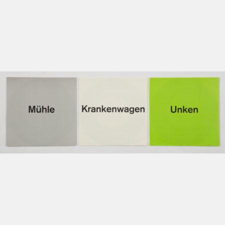 Katharina Fritsch-Muhle/Krankenwagen/Unken-