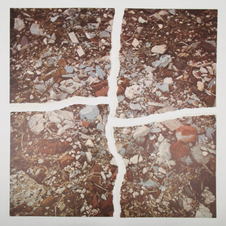 Robert Smithson-Torn Photographs from the Second Stop (Rubble)-