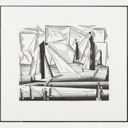 Lyonel Feininger-Fishing Boats (Prasse W245)-1971