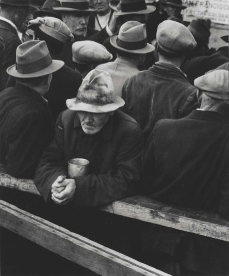 Dorothea Lange-White Angel Bread Line, San Francisco-1933