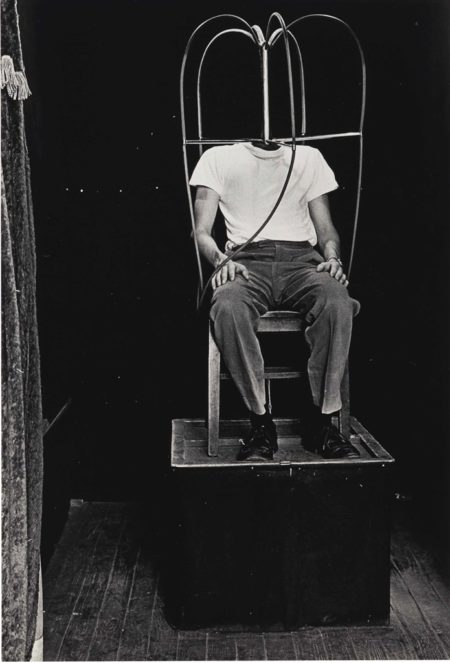 Diane Arbus-Headless Man, N.Y.C.-1961
