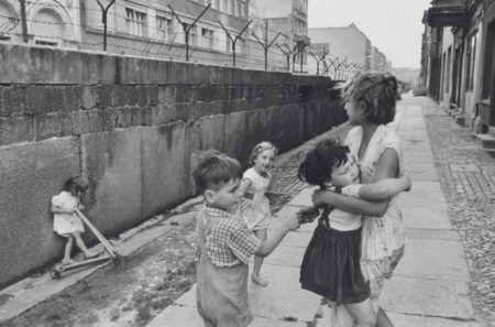 Henri Cartier-Bresson-West Berlin, the Berlin Wall-1962