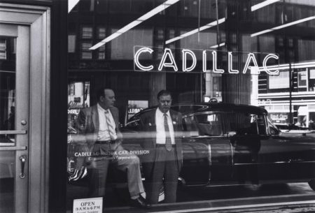 William Klein-Cadillac, New York-1955