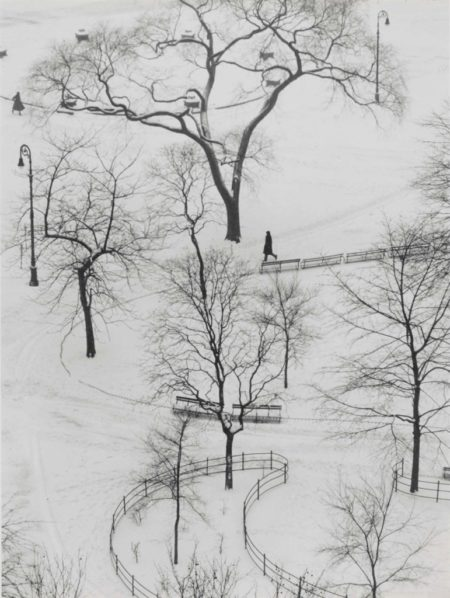 Andre Kertesz-Washington Square Park-1954