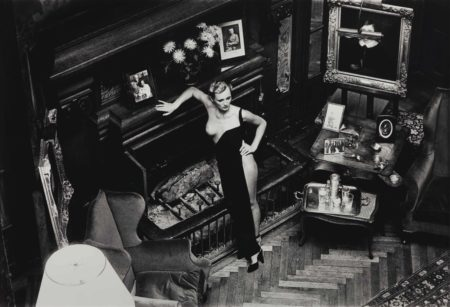 Helmut Newton-Roselyne at Arcangues-1975