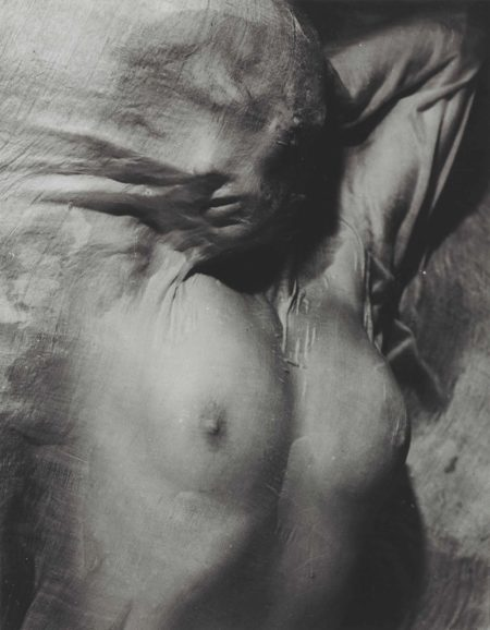 Erwin Blumenfeld-Nude under Wet Silk, Paris-1937