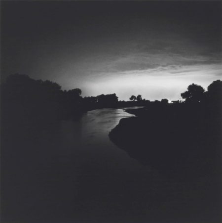 Robert Adams-The South Platte River. Toward Denver, Colorado, twenty-five miles distant-1979