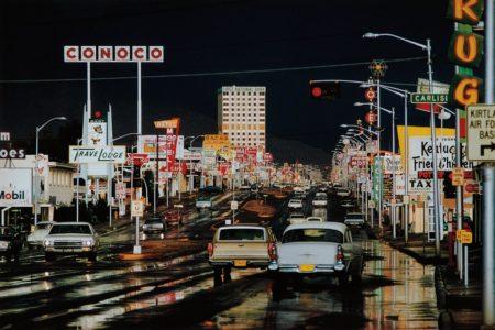 Ernst Haas-Route 66, Albuquerque, New Mexico-1969