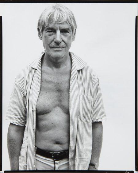 Richard Avedon-Willem De Kooning, Painter, Springs, Long Island, August 18, 1969-1969