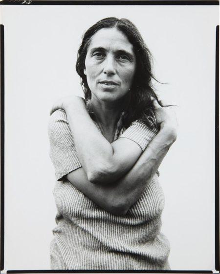 Richard Avedon-June Leaf, Sculptress, Mabou Mines, Nova Scotia, July 18, 1975-1975