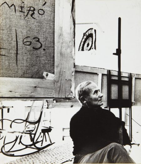 Bill Brandt-Selected Images Of Joan Miró And His Studio-1964