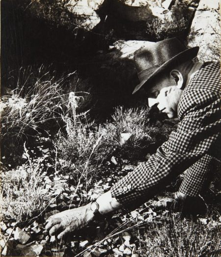 Bill Brandt-Dubuffet Working On A Relief Picture; Col De Vence-1964