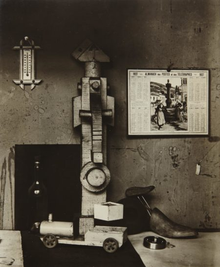 Andre Kertesz-In A Corner Of Léger Studio, Paris-1927