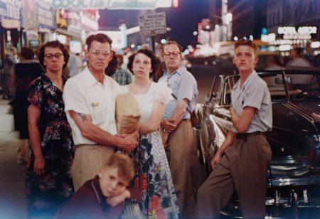 Louis Faurer-Family, Times Square-1950