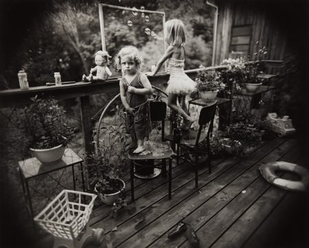 Sally Mann-Blowing Bubbles-1987