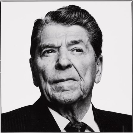 Richard Avedon-Ronald Reagan, Los Angeles, California, April 1, 1993-1993