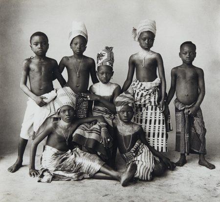 Irving Penn-Dahomey Children-1967